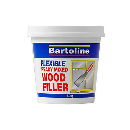 Image for Bartoline White Wood Filler - 500g from StoreName