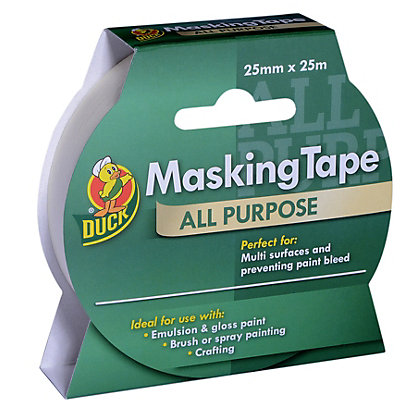 Image for Duck All Purpose Masking Tape - 25mm x 25m from StoreName