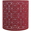 Alexia Cylinder Shade - Red