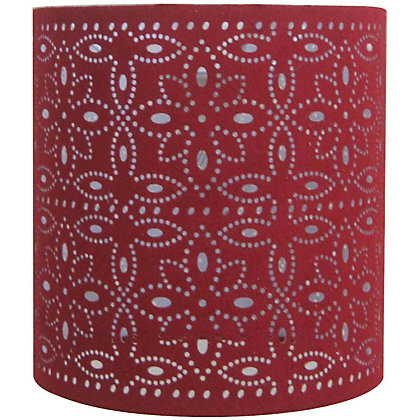 Image for Alexia Cylinder Shade - Red from StoreName