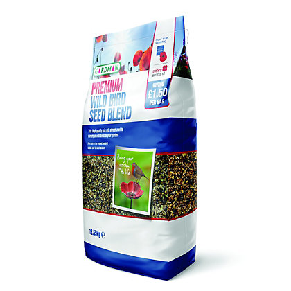 Image for British Legion Wild Bird Seed Blend - 12.55kg from StoreName