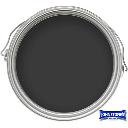 Image for Johnstones Paint For Wood And Metal- Satin Black - 250ml from StoreName