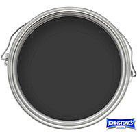 Johnstones Paint For Wood And Metal- Satin Black - 750ml