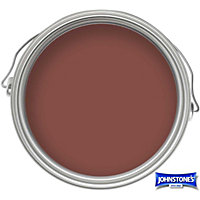 Johnstones Paint For Bricks, Tiles And Doorsteps Matt Red - 750ml