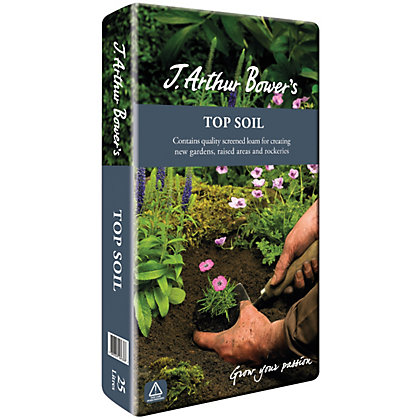 Image for J Arthur Bowers Top Soil - 25L from StoreName