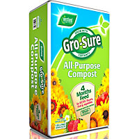 Gro-sure All Purpose Compost with 4 month plant feed - 120L