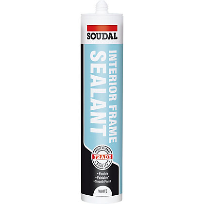 Image for Soudal Trade Interior Frame Sealant White - 300ml from StoreName