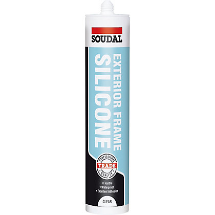 Image for Soudal Trade Exterior Frame Sealant Clear - 300ml from StoreName
