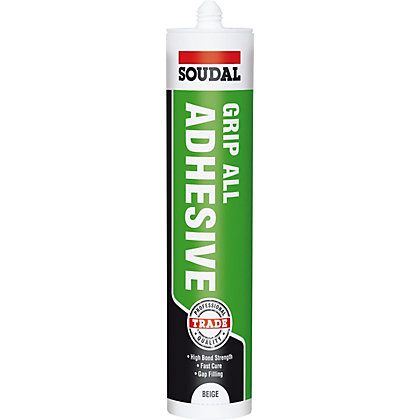 Image for Soudal Trade Grip All Grab Adhesive (Solvented) - 300ml from StoreName