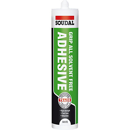 Image for Soudal Trade Grip All Grab Adhesive Solvent Free - 300ml from StoreName