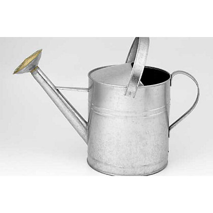 Image for Galvanised Watering Can - Zinc - 3.5L from StoreName