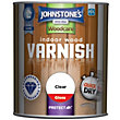 Johnstones Indoor Wood Varnish Gloss Clear - 750ml