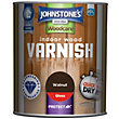 Johnstones Indoor Wood Varnish Gloss Walnut - 750ml