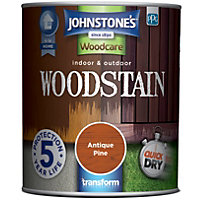 Johnstones Interior & Exterior Woodstain - Antique Pine - 750ml