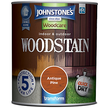 Image for Johnstones Quick Drying Woodstain Antique Pine - 750ml from StoreName