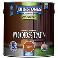 Johnstones Quick Drying Woodstain Antique Pine - 2.5L