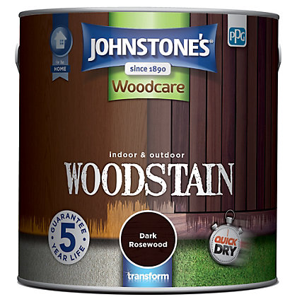 Image for Johnstones Interior & Exterior Woodstain - Dark Rosewood - 2.5L from StoreName