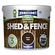 Johnstones One Coat Shed and Fence - Dark Oak - 5L