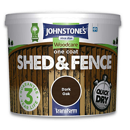 Image for Johnstones One Coat Shed and Fence - Dark Oak - 5L from StoreName