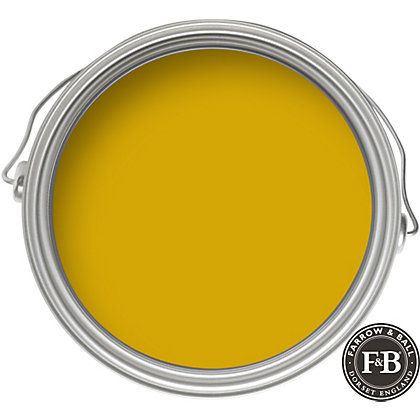 farrow ball modern india yellow emulsion paint 2 5l. Black Bedroom Furniture Sets. Home Design Ideas