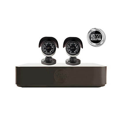 Image for Yale Smart HD720 2 Cam CCTV System from StoreName
