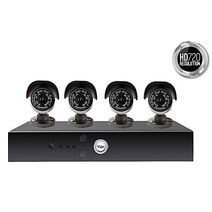 Image for Yale Smart HD720 4 Cam CCTV System from StoreName