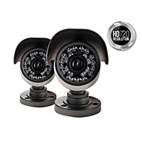 Yale Easy Fit HD720p Twin Bullet Cameras