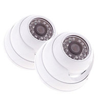 Yale Twin Pack Indoor Dome Camera HD1080
