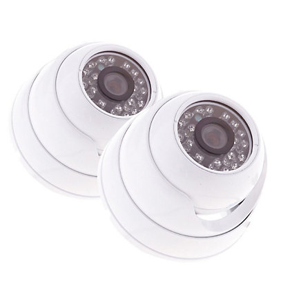 Image for Yale HD1080 Indoor Dome Camera Twin Pack from StoreName