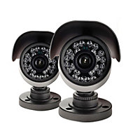 Yale HD1080 Outdoor Bullet Camera Twin Pack