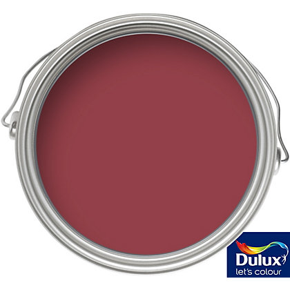 Image for Dulux Feature Wall Redcurrant Glory - Matt Emulsion Paint - 50ml Tester from StoreName