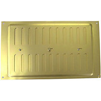 Adjustable Vent - 229 x 152mm - Gold Aluminium