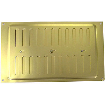 Image for Adjustable Vent - Gold Aluminium - 229x152mm from StoreName