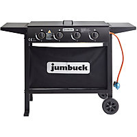 Jumbuck 4 Burner Flat Top Urban BBQ