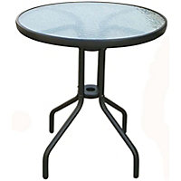 Small Glass Bistro Table