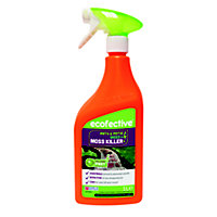 ecofective Ready to Use Path, Patio Weed & Moss Killer - 1L