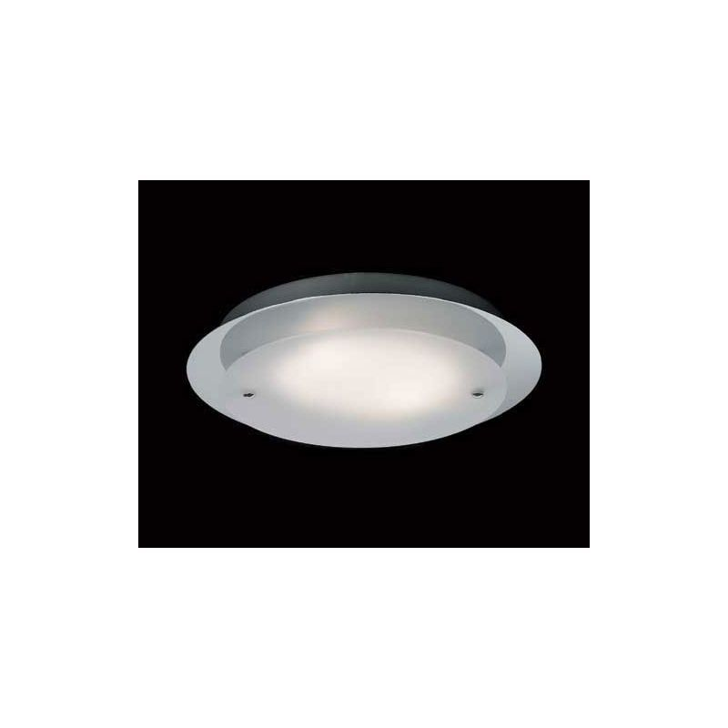 Bodmin Flush Light – Chrome/Frost