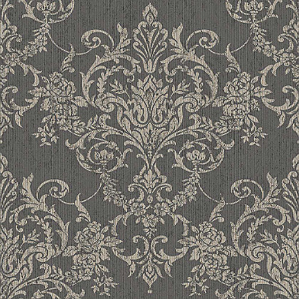 Image for Graham & Brown Victorian Damask Black Wallpaper from StoreName