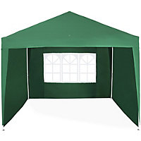 Marquee Pop Up Gazebo with Side Panels - 3 X 3M