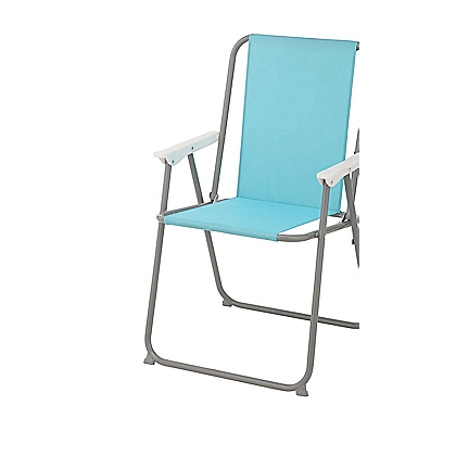 Image for Folding Picnic Chair - Aqua from StoreName