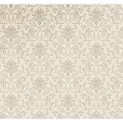 Image for Grandeco Estelle Silver Wallpaper from StoreName