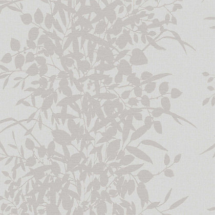Image for Grandeco Bexley Grey Wallpaper from StoreName