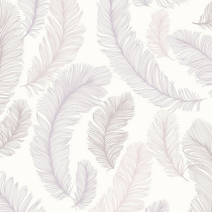 Image for Grandeco Yasmine Mauve Wallpaper from StoreName