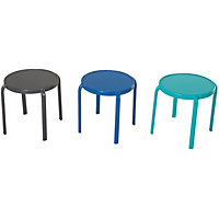 Stacking Side Table - Mixed Colours