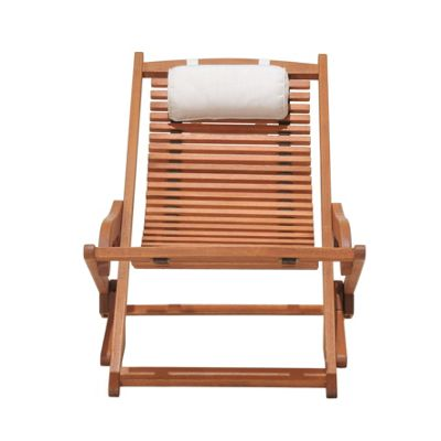 Image for Peru Wooden Deckchairs - Natural (Pack of 2) from StoreName