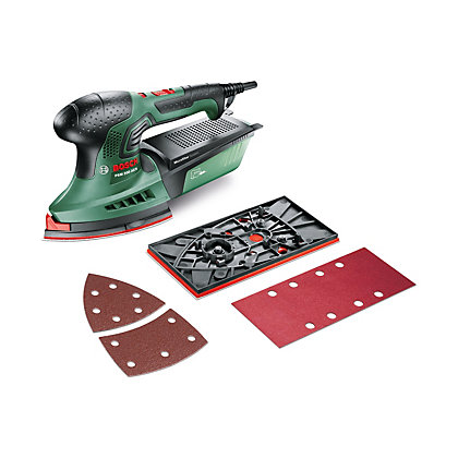 Image for Bosch PSM 200 AES Multi Sander & 25 Sanding Sheets from StoreName