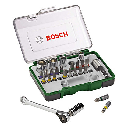 Image for Bosch Ratchet Screwdriving Set - 27 Piece from StoreName