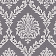 Fine Decor Bamburgh Damask Black Wallpaper