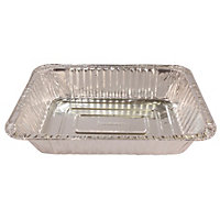 Small Rectangular Foil Trays - 10 Pack