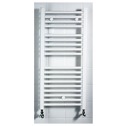 Image for Torino Heated Towel Rail - White 1142 x 420mm from StoreName